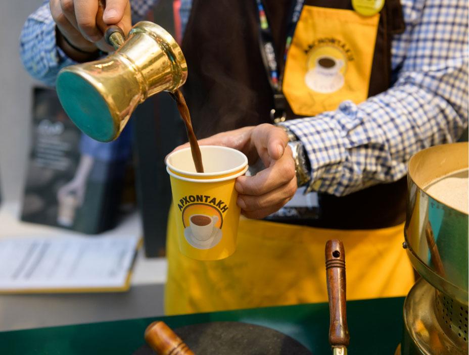 Ο Καφές Αρχοντάκη στην HORECA και την Food Expo