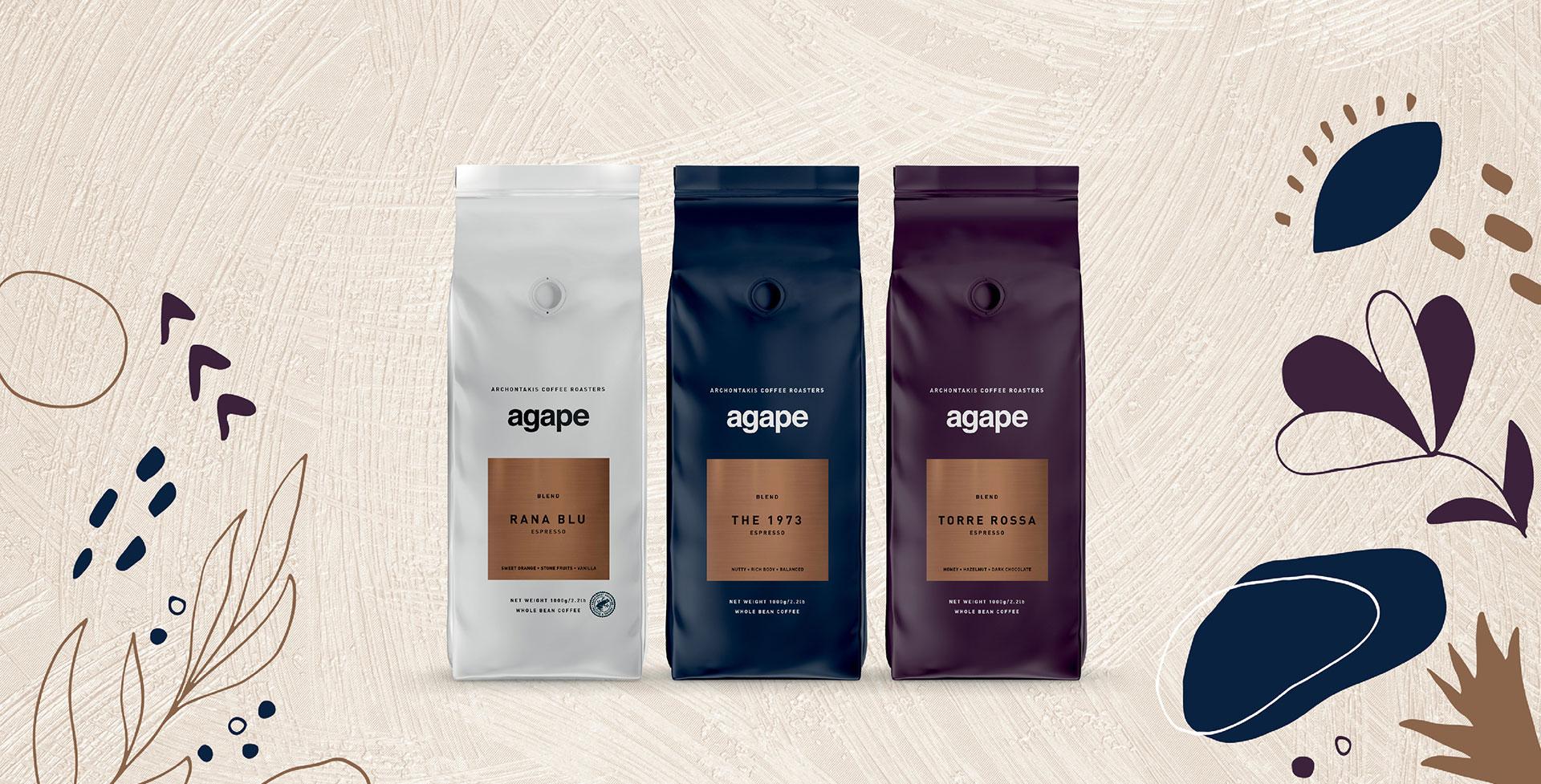 Καφές Αρχοντάκη - Καφές Agape